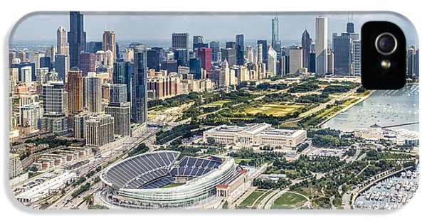 Soldier Field And Chicago Skyline IPhone 5 Case