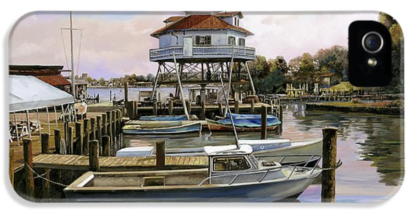 Solomon's Island IPhone 5 Case by Guido Borelli