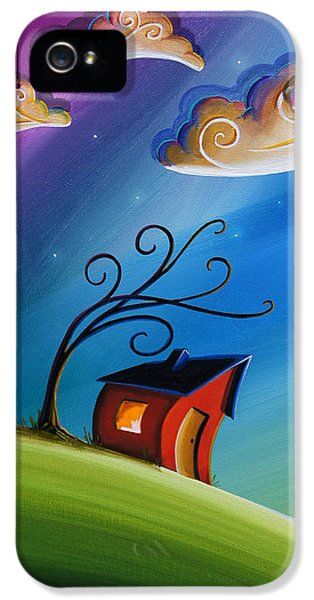 Illustrative iPhone 5 Case - Song At Sunset by Cindy Thornton