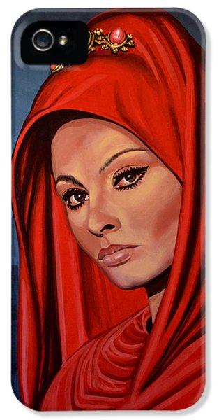 Sophia Loren 2  IPhone 5 Case