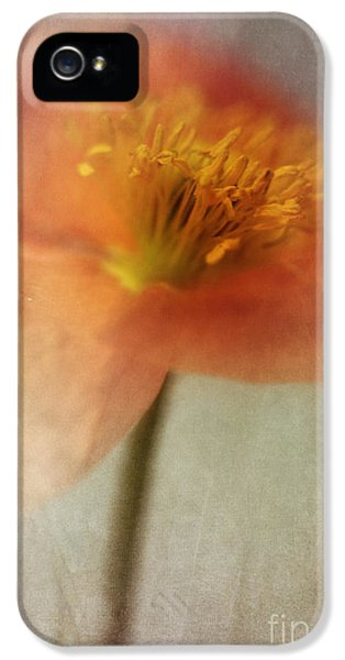 Soulful Poppy IPhone 5 Case by Priska Wettstein