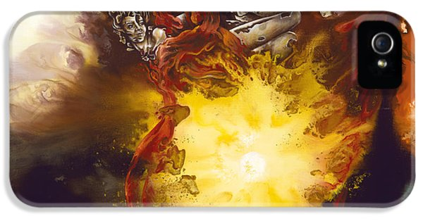 Source Of Strength IPhone 5 Case by Karina Llergo