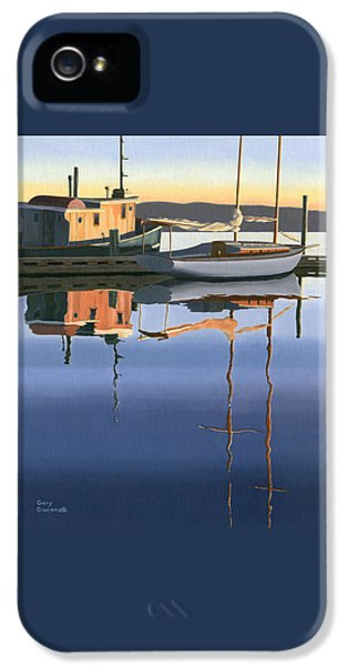 South Harbour Reflections IPhone 5 Case by Gary Giacomelli