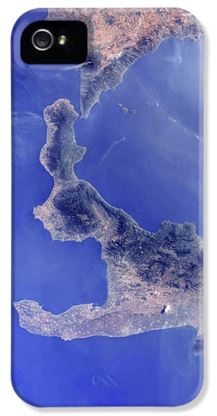 Etna iPhone 5 Case - Southern Italy by Nasa