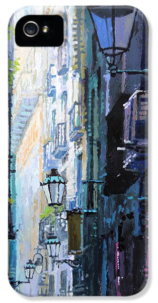 Spain Series 06 Barcelona IPhone 5 Case by Yuriy Shevchuk