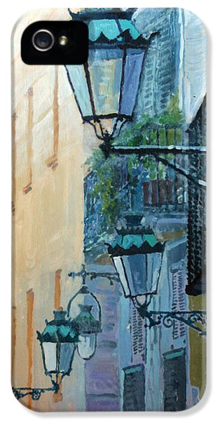 Spain Series 07 Barcelona  IPhone 5 Case by Yuriy Shevchuk
