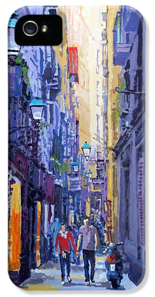 Spain Series 10 Barcelona IPhone 5 Case by Yuriy Shevchuk