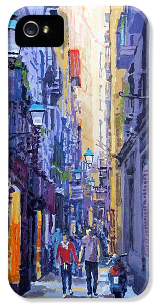 Spain Series 10 Barcelona IPhone 5 / 5s Case by Yuriy Shevchuk