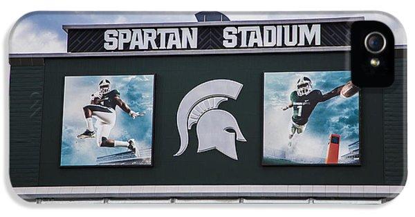 Spartan Stadium Scoreboard  IPhone 5 Case