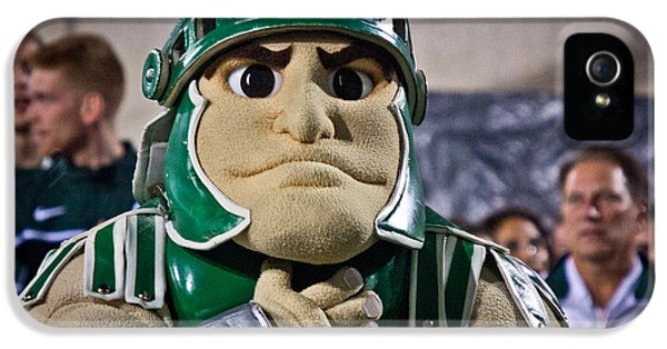 Sparty And Izzo National Anthem  IPhone 5 Case