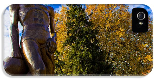 Sparty From Below In Autumn IPhone 5 Case