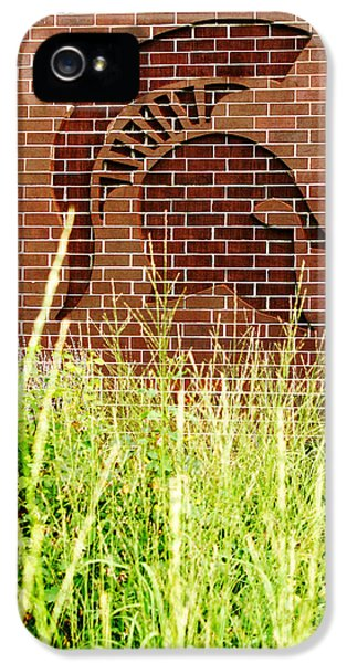Sparty On The Wall IPhone 5 Case