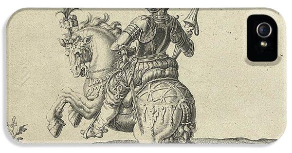 Spear Rider With Open Visor, Jacob De Gheyn II IPhone 5 Case