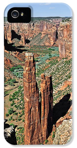 Spider Rock Canyon De Chelly IPhone 5 / 5s Case by Christine Till