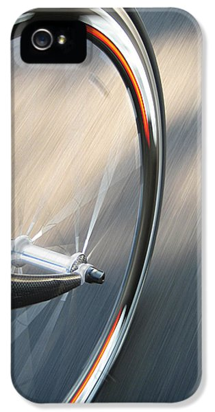 Bicycle iPhone 5 Case - Spin by Jeff Klingler