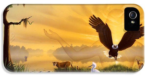 Spirit Of The Everglades IPhone 5 / 5s Case by Jerry LoFaro