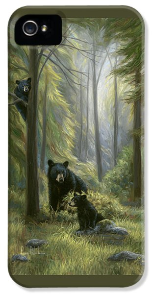 Spirits Of The Forest IPhone 5 Case by Lucie Bilodeau