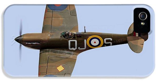 Spitfire Mk 1 R6596 Qj-s IPhone 5 Case by Gary Eason
