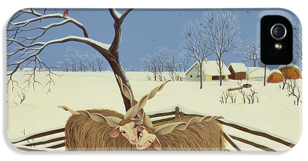 Spring In Winter IPhone 5 Case by Magdolna Ban