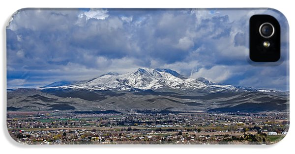 Spring Snow On Squaw Butte IPhone 5 Case