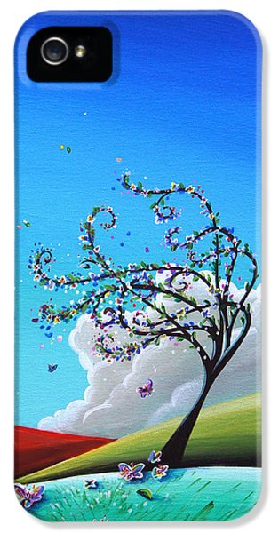 Illustrative iPhone 5 Case - Springtime by Cindy Thornton
