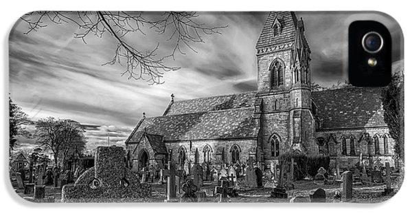 St David's Pantasaph IPhone 5 Case by Adrian Evans