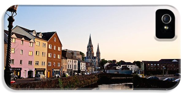 St Finbarrs Cathedral, River Lee South IPhone 5 Case by Panoramic Images
