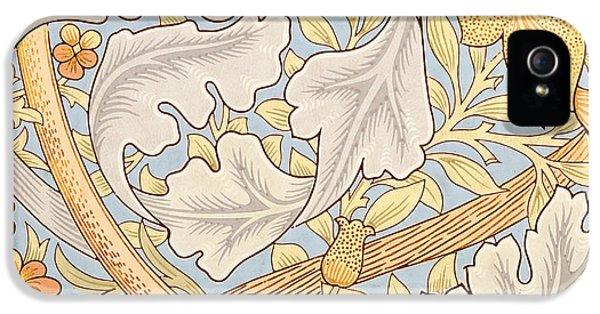 St James Wallpaper Design IPhone 5 Case by William Morris