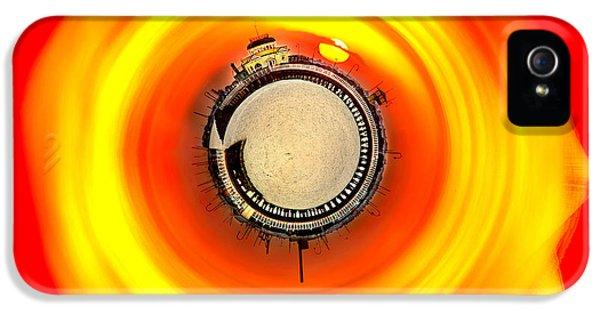 Beach Sunset iPhone 5 Case - St Kilda Sunset by Az Jackson