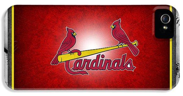 St Louis Cardinals IPhone 5 Case by Joe Hamilton