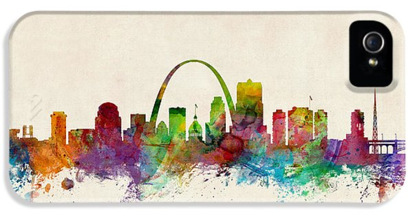 St Louis Missouri Skyline IPhone 5 Case by Michael Tompsett