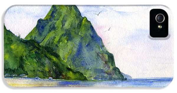 St. Lucia IPhone 5 Case by John D Benson