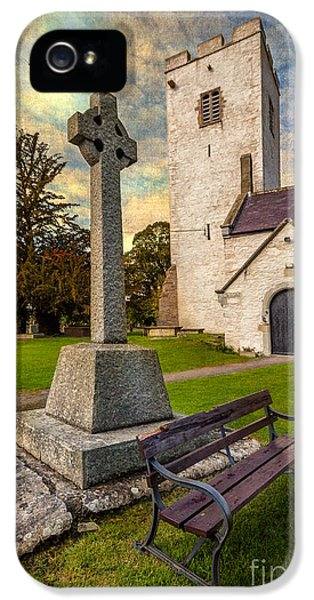 St. Marcellas Celtic Cross IPhone 5 Case by Adrian Evans