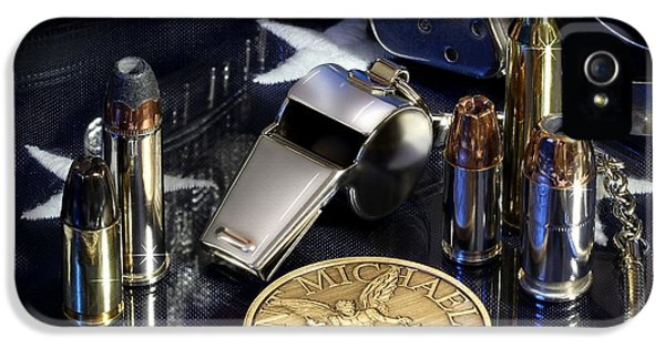 St Michael Law Enforcement IPhone 5 Case by Gary Yost