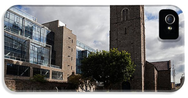 St Michens Church, 1686, Dublin City IPhone 5 Case by Panoramic Images