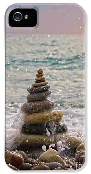 Stacking Stones IPhone 5 Case