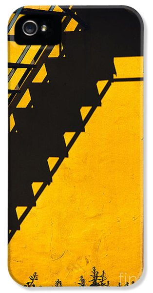 IPhone 5 Case featuring the photograph Staircase Shadow by Silvia Ganora