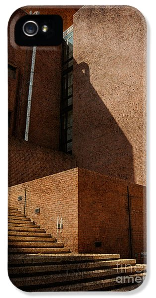 Stairway To Nowhere IPhone 5 Case by Lois Bryan