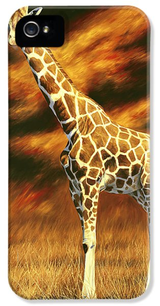 Standing Tall IPhone 5 Case by Lucie Bilodeau