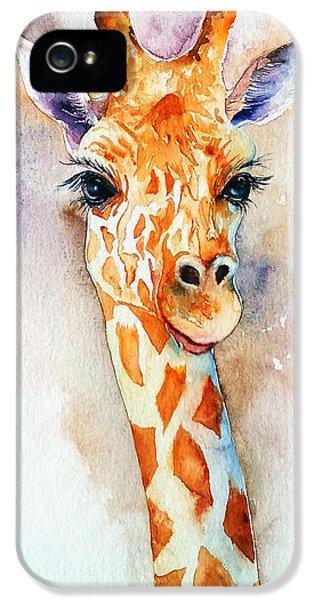Standing Tall_giraffe IPhone 5 Case