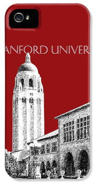 Stanford University - Dark Red IPhone 5 Case by DB Artist