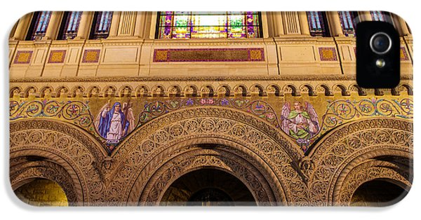 Stanford University Memorial Church Close Up IPhone 5 Case by Scott McGuire