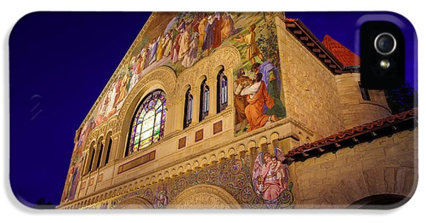 Stanford University Memorial Church IPhone 5 Case by Scott McGuire