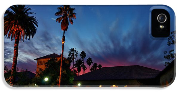 Stanford University Quad Sunset IPhone 5 / 5s Case by Scott McGuire