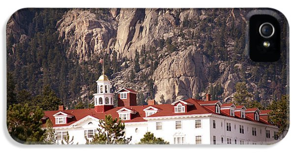 Stanley Hotel Estes Park IPhone 5 Case by Marilyn Hunt