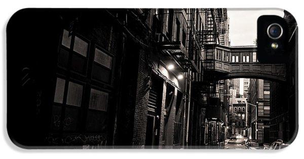 Staple Street - Tribeca - New York City IPhone 5 Case by Vivienne Gucwa
