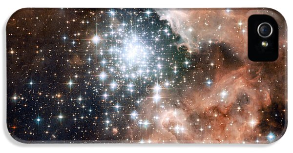 Star Cluster And Nebula IPhone 5 Case by Sebastian Musial