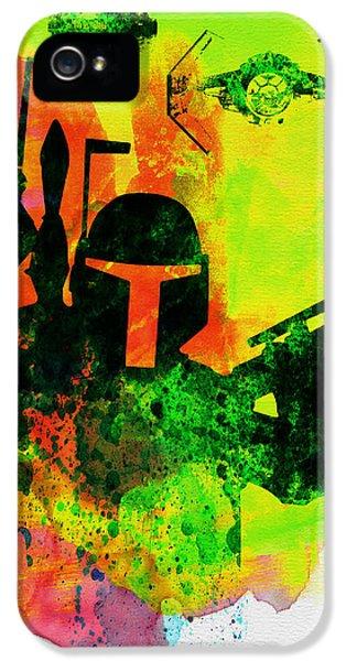 Star Warriors Watercolor 3 IPhone 5 Case