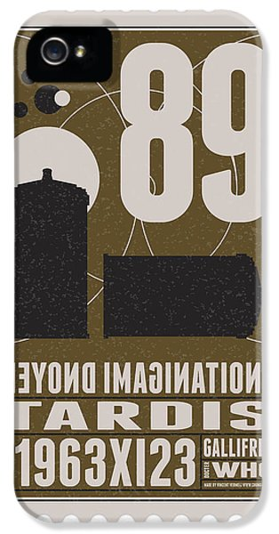 Science Fiction iPhone 5 Case - Starschips 89-bonus-poststamp - Dr Who - Tardis by Chungkong Art