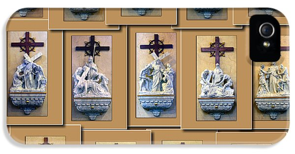 Stations Of The Cross Collage IPhone 5 Case